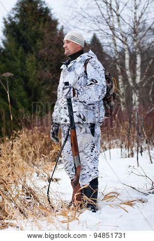 Standing Hunter