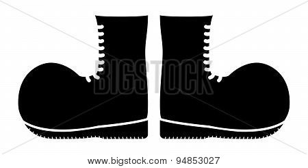 Military Boots Silhouette