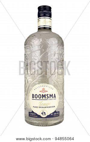 Boomsma Pure Grain Gin.