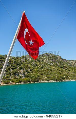 Mediterranean coast, Turkey.