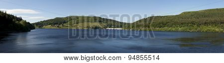 Ladybower Reservoir Panorama
