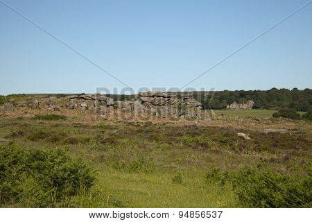 Longshaw in the Peak District