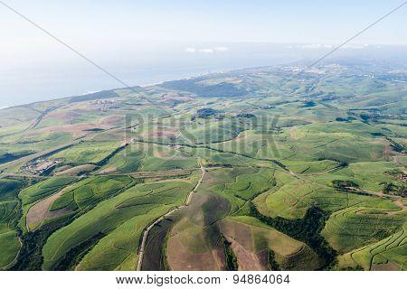 Aerial Flying Farmlands