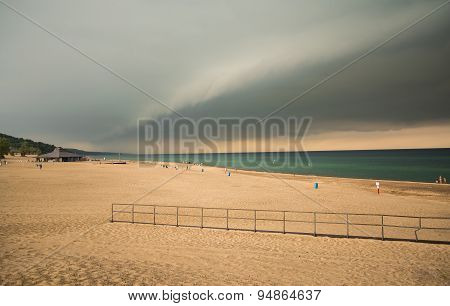 Beach Cloud Scape