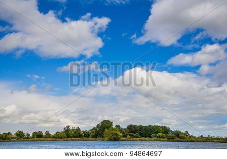 Summer Cloud Scape