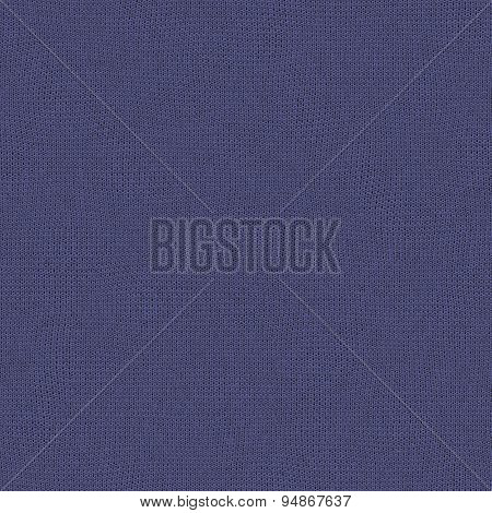 Seamless Blue Izis Color Of The Year 2008 Knitted Wool Texture For Textile Background