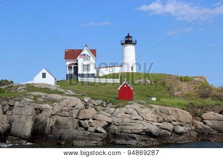 The Nubble Light, York, Maine.