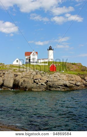 Sunny Day at the Nubble Light House