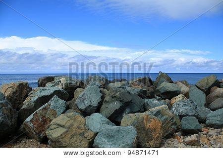Wash House Beach Rocks