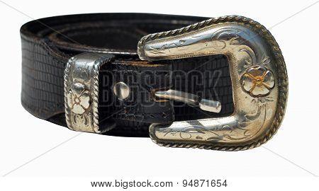 Cowboy Leather Belt