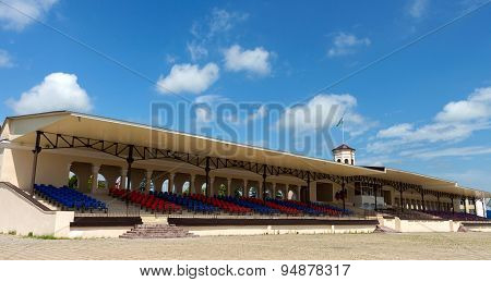 Stable In Nalchik Racecourse, Russia.