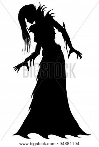 Woman Maiden Silhouette