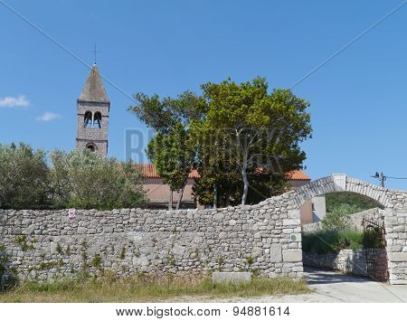 Kraj on the Croatian island Pasman