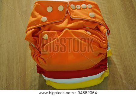 cloth diapers summer colors