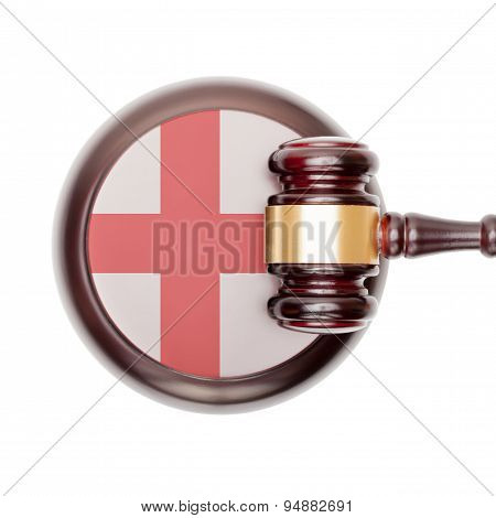 National Legal System Conceptual Series - England