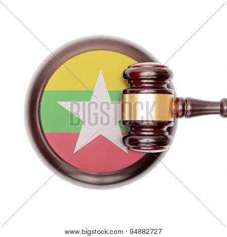 National Legal System Conceptual Series - Myanmar