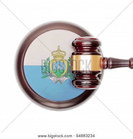 National Legal System Conceptual Series - San Marino