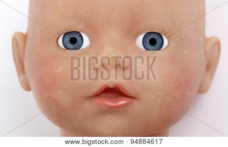 Child's Baby Doll Face