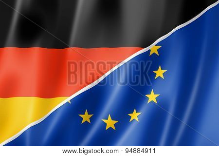 Germany And Europe Flag