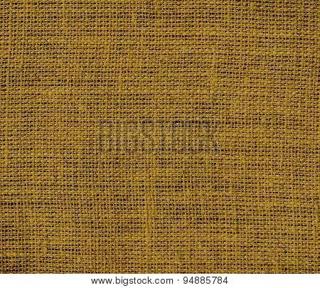 Drab burlap texture background