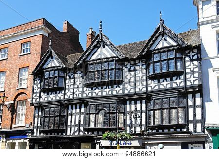 Timbered building, Shrewsbury.