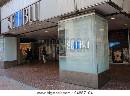 Department store Tokyo Japan