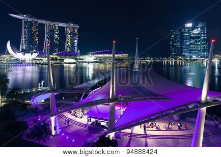 Esplanade open scene, Singapore