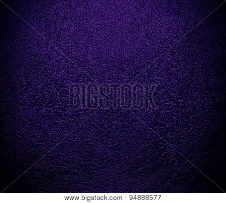 Deep violet leather texture background