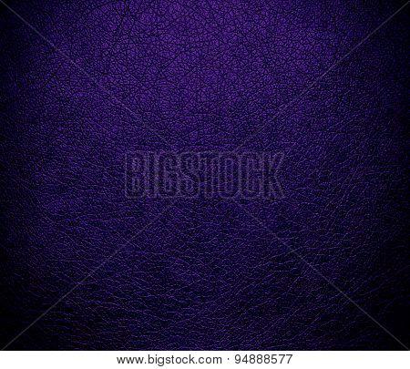 Deep violet leather texture background