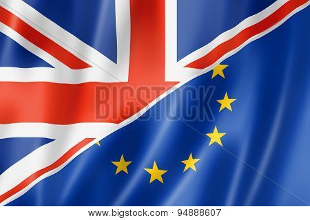 Uk And Europe Flag