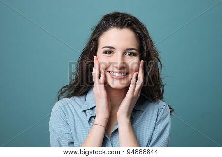 Cheerful Smiling Girl