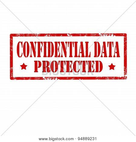 Confidential Data-stamp