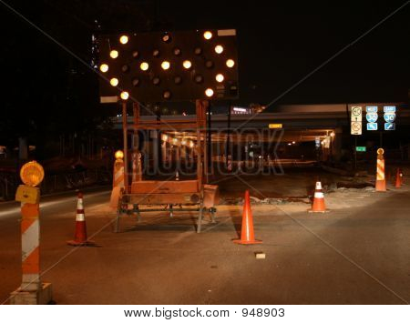 Night Construction