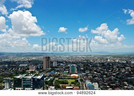 Aerial City Panorama