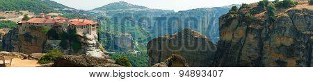 Panorama of Meteora
