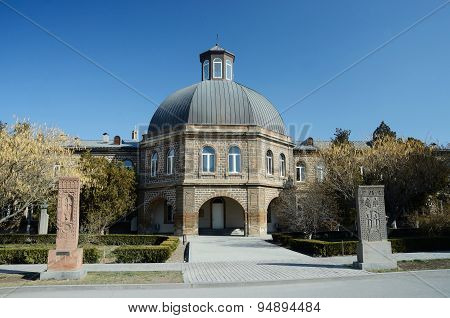 :Gevorkian Theological Seminary of St. Echmiadzin,Armenia
