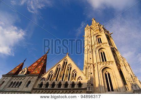 The Matthias Church in Budapest