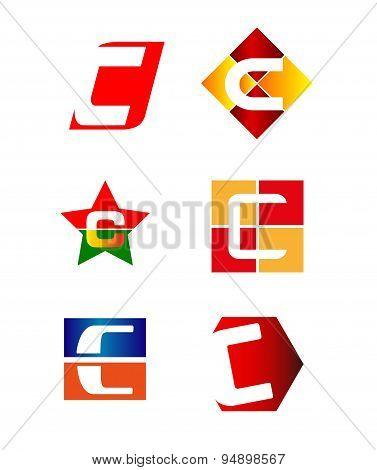 Letter C logo design sample