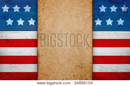 Patriotic american background