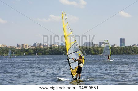 Moscow, Windsurfing