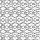 foto of primitive  - Primitive simple retro seamless pattern with lines and circles - JPG