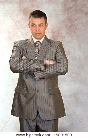 Portrait Of The Successful Businessman