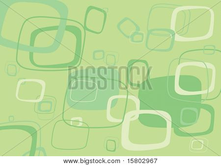 Green rectangle vector background.