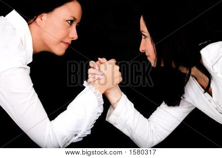 Arm Wrestling Business Competition