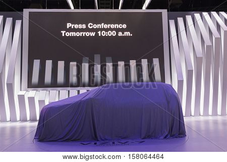 Debut Car On Display