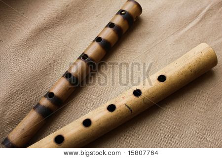 Two panpipe