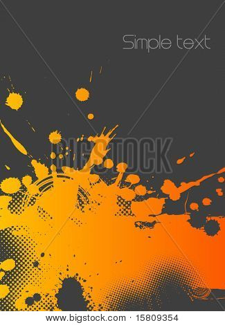 Colorful abstract illustration. Vector