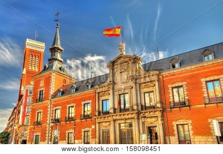 Santa Cruz Palace, the seat of the Ministry of Foreign Affairs and Cooperation of Spain - Madrid