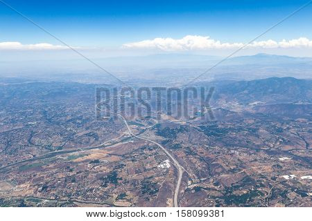 Aerial View Of Southern California