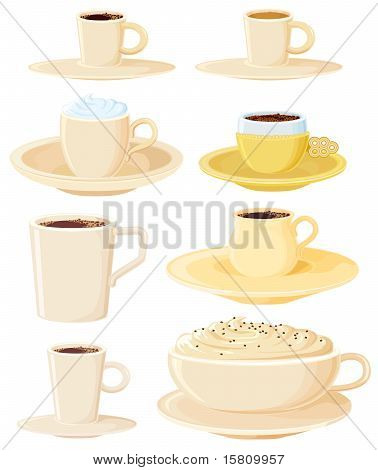 Coffee pots set